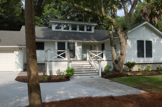 Beach House Exterior Remodel After
